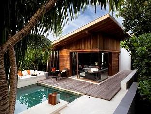 alila villas hadahaa resort maldives - park villa with pool