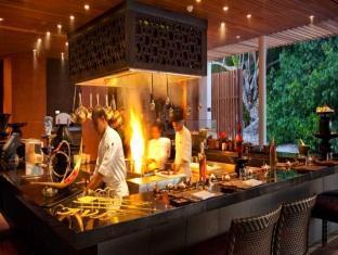alila villas hadahaa resort maldives - restaurant