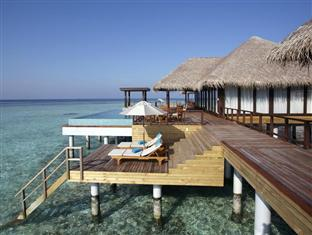 anantara kihavah villas maldives resort - 2bedroom water residence deck