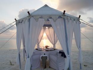 anantara veli maldives resort - private dining