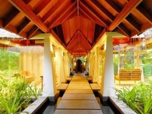 anantara veli maldives resort - spa entrance