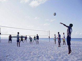 angsana resort spa ihuru maldives - beach volley