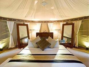 banyan tree madivaru resort maldives - pool villa bed room
