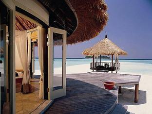 banyan tree vabbinfaru resort maldives - deluxe beach front villa