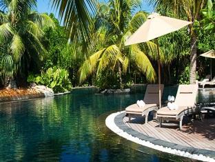 beach house waldorf astoria resort maldivess - swimming pool