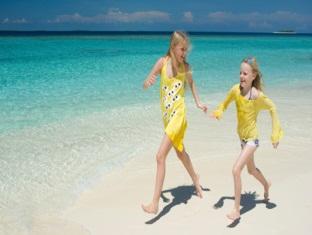 beach house waldorf astoria resort maldives - beach