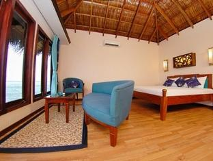 chaaya island dhonveli resort maldives - water bangalow
