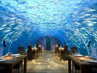 conrad resort maldives rangali island - ithaa under sea restaurant