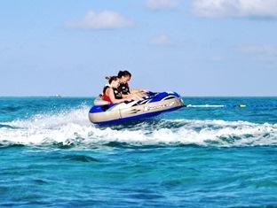 fun island resort maldives - tube riding