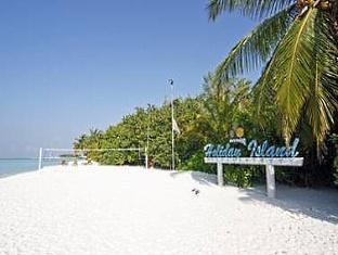 holiday island resort maldives - beach