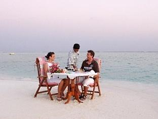 holiday island resort maldives - dining
