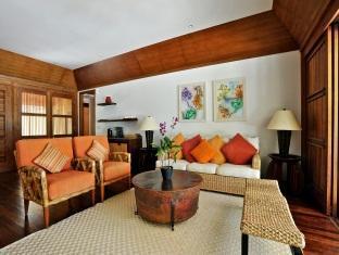 kanuhuraa resort maldives - duplex beachvilla lounge