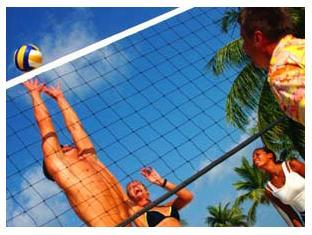 kuredu island resort maldives - beach volleyball