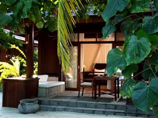 olhuveli beach spa resort maldives - beach villa exterior