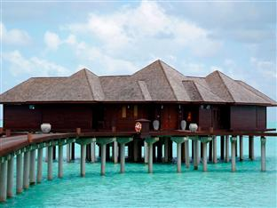 olhuveli beach spa resort maldives - presidential water suite exterior