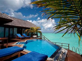 olhuveli beach spa resort maldives - presidential water suite private pool