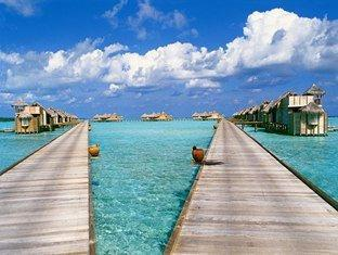 soneva gili resort maldives - walk way to villa