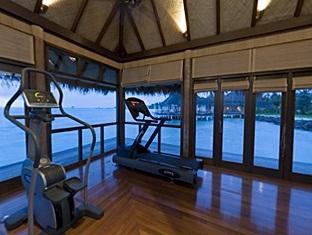 taj exotica resort maldives - fitness room