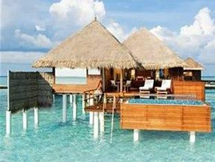 taj exotica resort maldives - hotel exterior
