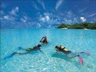 taj exotica resort maldives - snorkeling