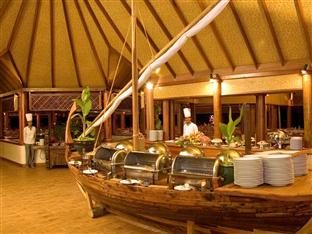 vilu reef beach spa resort maldives - main restaurant
