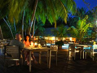 vilu reef beach spa resort maldives - pool bar deck