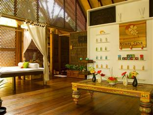 vilu reef beach spa resort maldives - spa interior