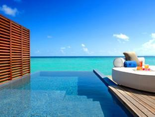 w retreat spa resort maldives - swimming pool