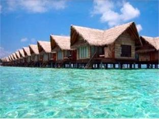 adaaran prestige ocean villas hudhuranfushi resort maldives - hotel exterior