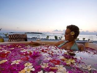 adaaran prestige ocean villas hudhuranfushi resort maldives - spa