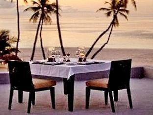 alila villas hadahaa resort maldives -roof top dining