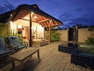 anantara dhigu maldives resort - sunset beach front villa
