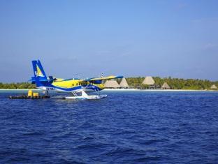 anantara kihavah villas maldives resort - sea plane transfer
