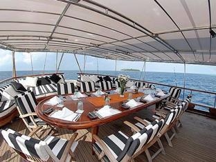banyan tree vabbinfaru resort maldives - banyan velaa dining