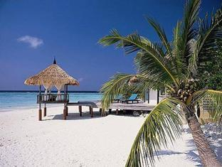 banyan tree vabbinfaru resort maldives - deluxe beach front villa sala