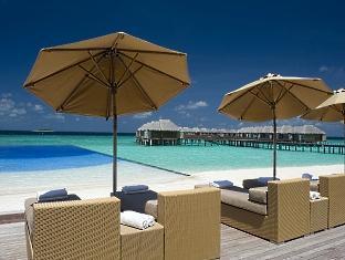 beach house waldorf astoria resort maldives - infiniti pool