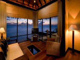 beach house waldorf astoria resort maldives - ocean villa