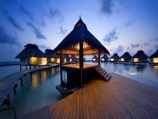 chaaya reef ellaidhoo resort maldives - water bangalow exterior