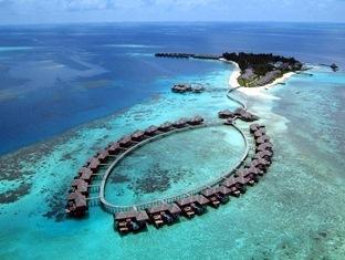 coco palm boduhithi resort maldives - aerial club cocoapalmewr