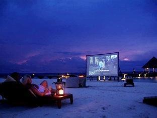 coco palm boduhithi resort maldives - coco cinema
