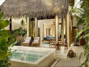 conrad resort maldives rangali island - deluxe beach villa exterior