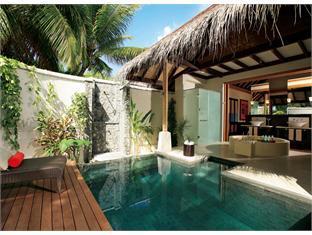 diva resort spa resort maldives - beach pool villa
