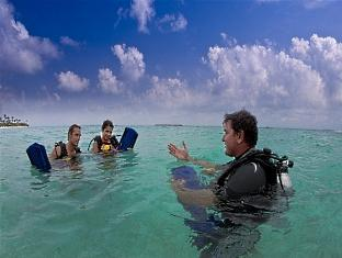hilton maldives iru fushi resort maldives - diving
