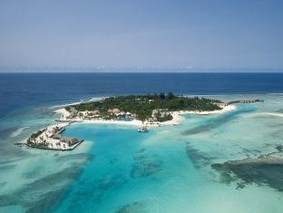 kandooma resort maldives - aerial
