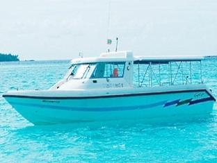 kandooma resort maldives - speed boat transfer