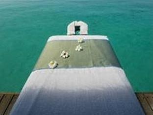 kuramathi island resort maldives - spa over water