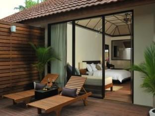 lily beach resort maldives - guest room