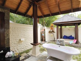 olhuveli beach spa resort maldives - beach villa bathroom