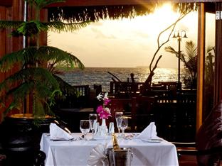 olhuveli beach spa resort maldives - lagoon restaurant