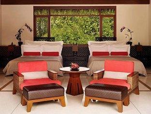 one only reethi rah resort maldives - beach villa 2queenbeds